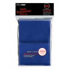 Ultra Pro 100ct Standard Blue Deck Protector Card Sleeves 100 Per Pack