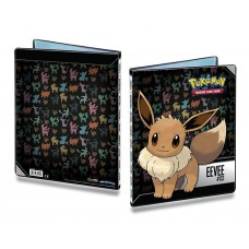 Ultra Pro Pokemon 9-Pocket Portfolio Album Eevee Holds 180 Cards New
