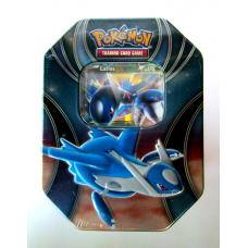 Latios EX Pokemon Best of EX Tin Sealed Includes 4 Booster Packs
