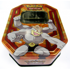 1 x Random Small Pokemon Storage Tin Empty - Holds 130 Cards