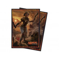 Ultra Pro Magic: The Gathering Hour of Devastation V3 Deck Protector Card Sleeves 80 Per Pack
