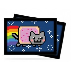 Ultra Pro 60ct Small Nyan Cat Deck Protector Card Sleeves 60 Per Pack