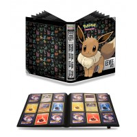 Ultra Pro Pokemon 9-Pocket PRO-Binder Portfolio Album Eevee FREE SHIPPING