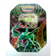 Rayquaza EX Pokemon Best of EX Tin Sealed Includes 4 Booster Packs