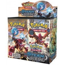 Pokemon XY Steam Siege Booster Box 36 Packs Sealed New